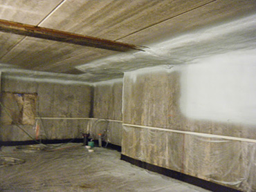 Thermal insulation of crawl spaces, Isolation Unik